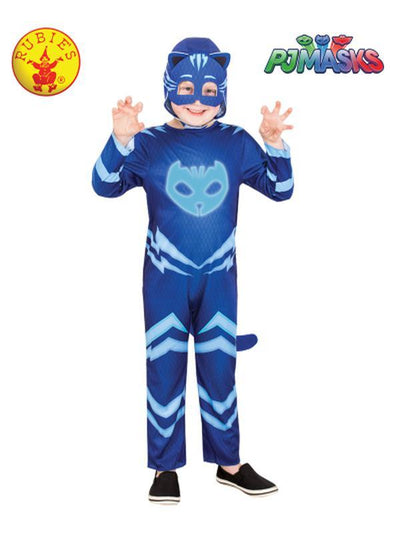 CATBOY GLOW IN THE DARK COSTUME - SIZE 3-5-Costumes - Boys-Jokers Costume Hire and Sales Mega Store