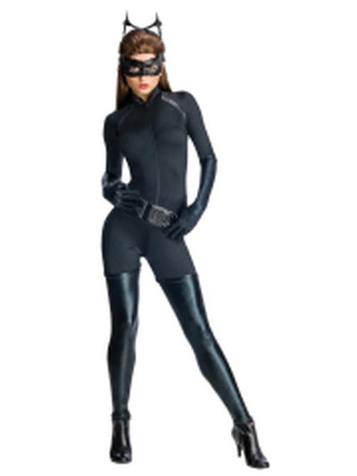 Catwoman Secret Wishes Costume - Size S-Costumes - Women-Jokers Costume Hire and Sales Mega Store
