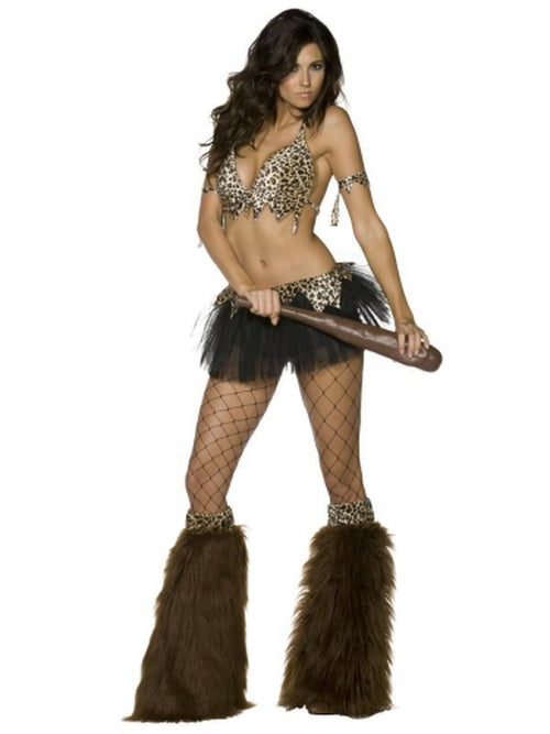 Cave Babe Costume-Costumes - Women-Jokers Costume Hire and Sales Mega Store