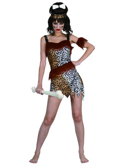 Cavewoman - Adult - Large-Costumes - Women-Jokers Costume Hire and Sales Mega Store