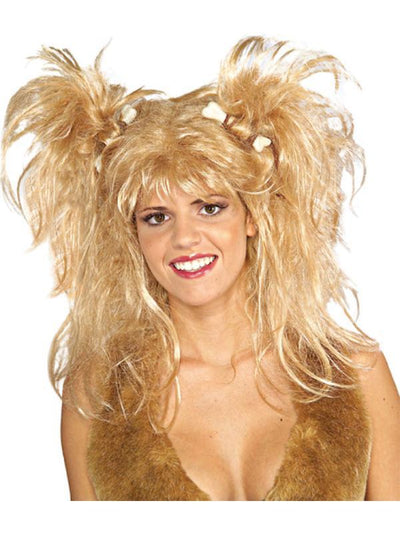Cavewoman Blonde Wig Adult-Wigs-Jokers Costume Hire and Sales Mega Store