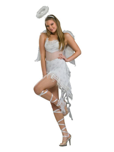 Celestial Angel Secret Wishes Costume - Size M-Jokers Costume Mega Store