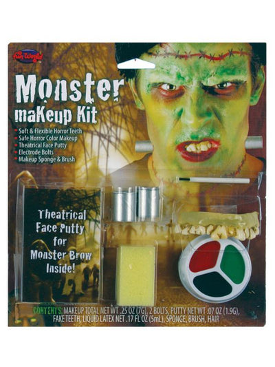 Character Make Up Kit - Monster-Halloween Makeup & Special FX-Jokers Costume Hire and Sales Mega Store