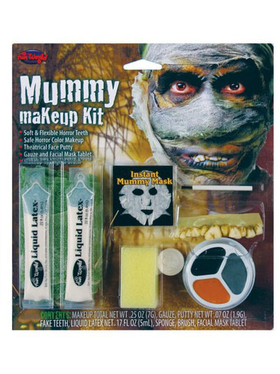 Character Make Up Kit - Mummy-Halloween Makeup & Special FX-Jokers Costume Hire and Sales Mega Store