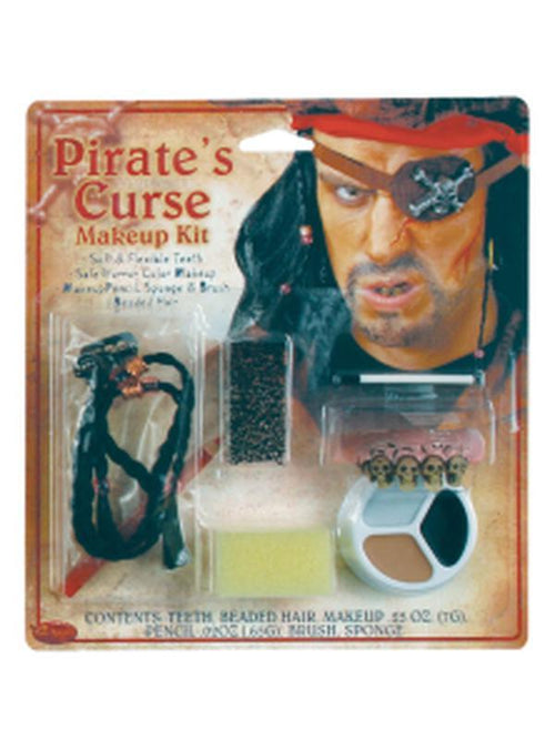 Character Make Up Kit - Pirates Curse-Halloween Makeup & Special FX-Jokers Costume Hire and Sales Mega Store