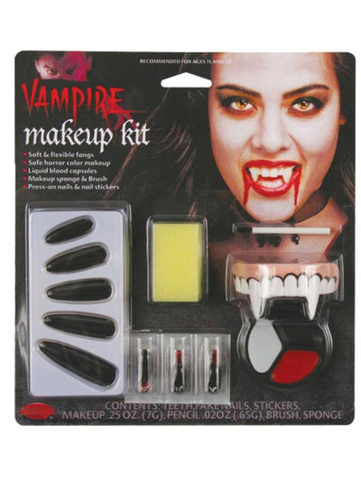 Character Make Up Kit - Vampiress-Halloween Makeup & Special FX-Jokers Costume Hire and Sales Mega Store