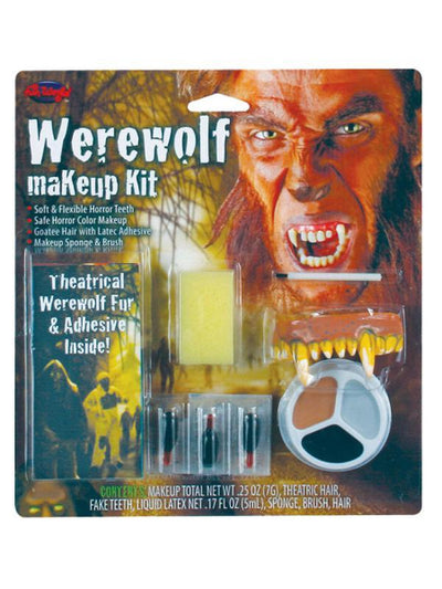 Character Make Up Kit - Werewolf-Halloween Makeup & Special FX-Jokers Costume Hire and Sales Mega Store