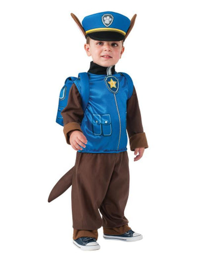 Chase Paw Patrol - Size Toddler-Costumes - Boys-Jokers Costume Hire and Sales Mega Store