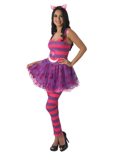 Cheshire Cat Tutu Dress - Size L-Costumes - Women-Jokers Costume Hire and Sales Mega Store
