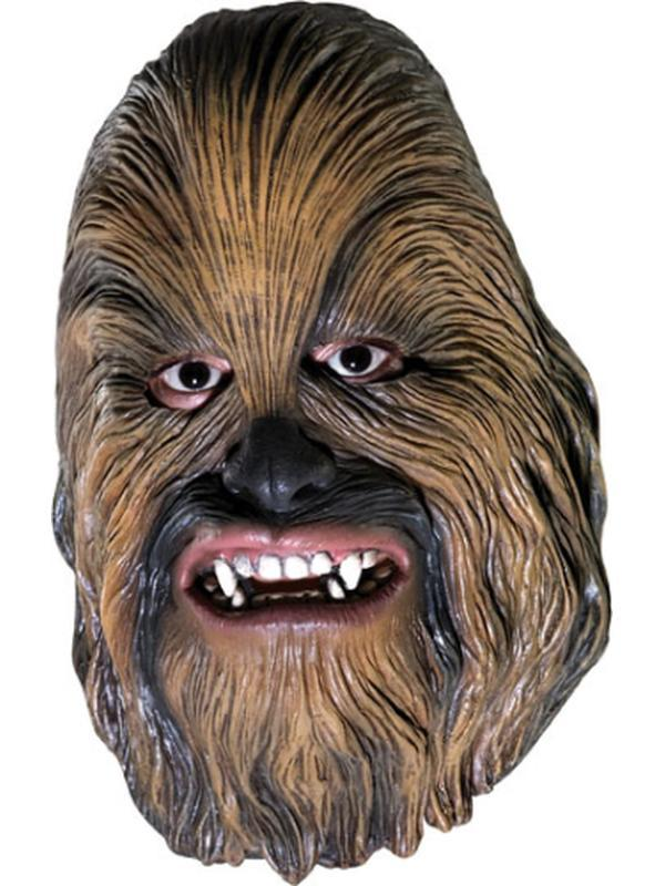 Chewbacca 3/4 Mask Adult-Masks - Latex-Jokers Costume Hire and Sales Mega Store