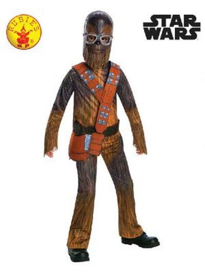 CHEWBACCA CLASSIC COSTUME, CHILD - SIZE SMALL-Costumes - Boys-Jokers Costume Hire and Sales Mega Store