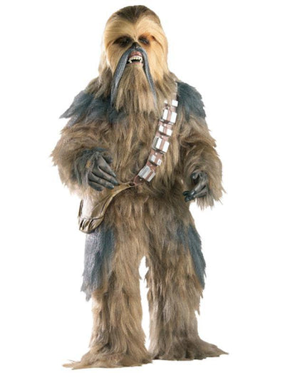Chewbacca Collector'S Edition - Size Xl-Costumes - Mens-Jokers Costume Hire and Sales Mega Store