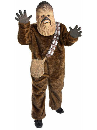 Chewbacca Deluxe Child - Size M-Costumes - Boys-Jokers Costume Hire and Sales Mega Store