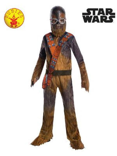 CHEWBACCA DELUXE COSTUME, CHILD - SIZE SMALL-Costumes - Boys-Jokers Costume Hire and Sales Mega Store