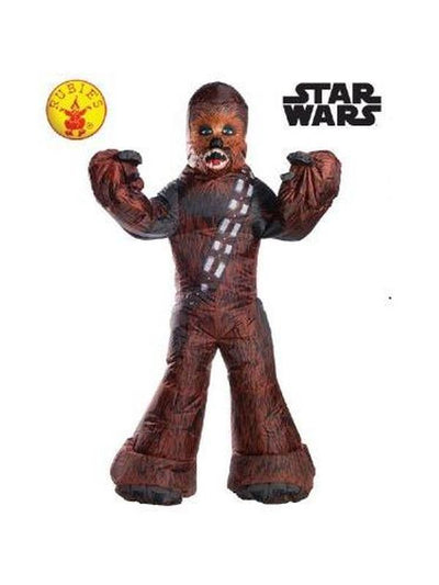 CHEWBACCA INFLATABLE COSTUME - SIZE STD-Costumes - Mens-Jokers Costume Hire and Sales Mega Store