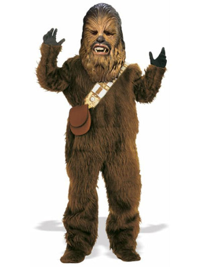 Chewbacca Premium Adult Costume - Size Xl-Costumes - Mens-Jokers Costume Hire and Sales Mega Store