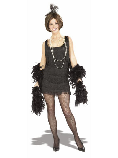 Chicago Flapper - Size L-Costumes - Women-Jokers Costume Hire and Sales Mega Store