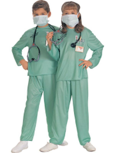 Child Er Doctor - Size L-Costumes - Boys-Jokers Costume Hire and Sales Mega Store