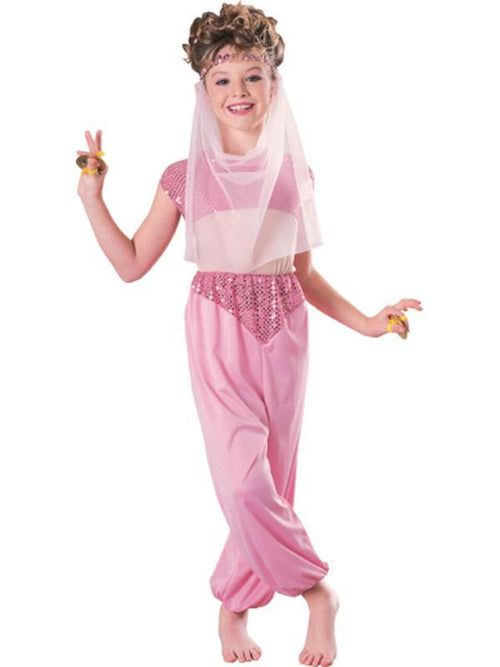 Child Harem Girl - Size M-Costumes - Girls-Jokers Costume Hire and Sales Mega Store