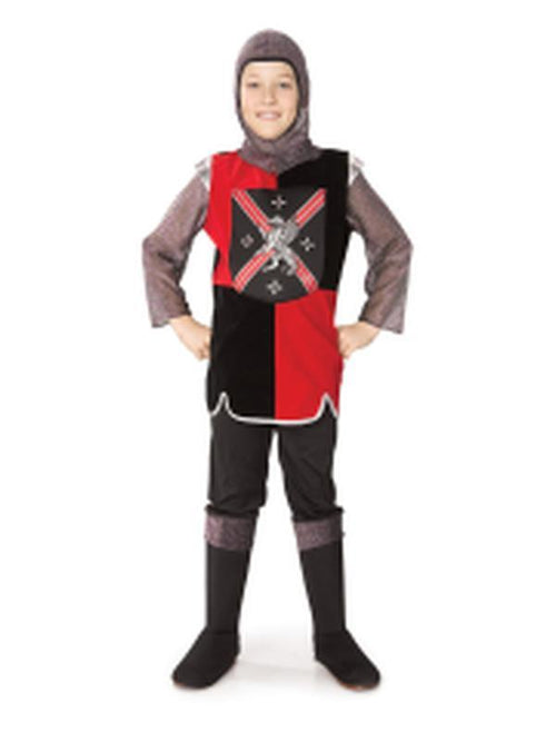 Child Knight - Size L-Costumes - Boys-Jokers Costume Hire and Sales Mega Store