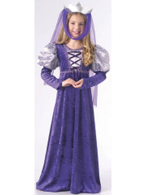 Child Renaissance Queen - Size M-Costumes - Girls-Jokers Costume Hire and Sales Mega Store