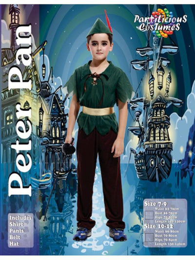 Children's Peter Pan-Costumes - Boys-Jokers Costume Hire and Sales Mega Store