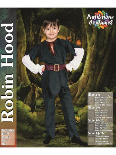 Children's Robin Hood Costume-Costumes - Boys-Jokers Costume Hire and Sales Mega Store
