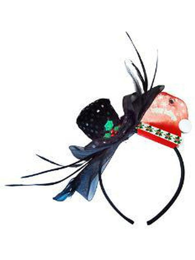 Christmas Fascinator Hband - Snowman-Costume Accessories-Jokers Costume Hire and Sales Mega Store