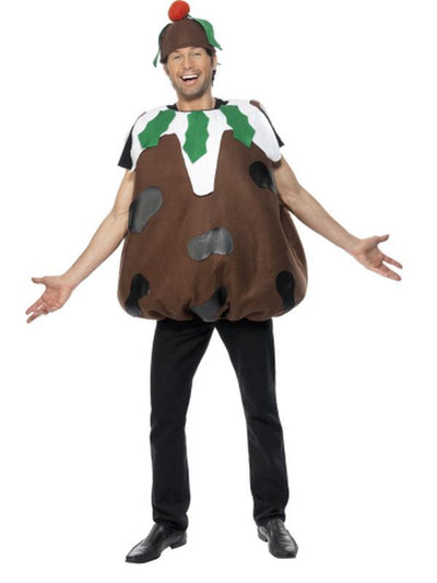 Christmas Pudding Costume-Costumes - Mens-Jokers Costume Hire and Sales Mega Store
