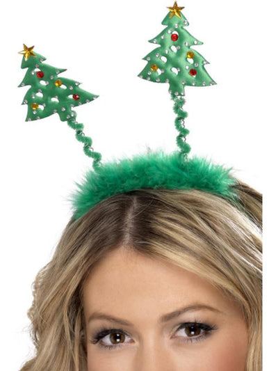 Christmas Tree Boppers-Hats and Headwear-Jokers Costume Hire and Sales Mega Store