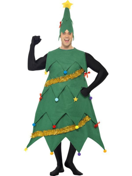 Christmas Tree Costume-Costumes - Mens-Jokers Costume Hire and Sales Mega Store