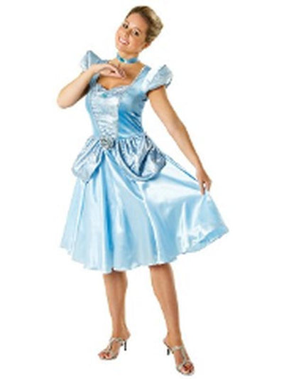 Cinderella Adult - Size M-Costumes - Women-Jokers Costume Hire and Sales Mega Store