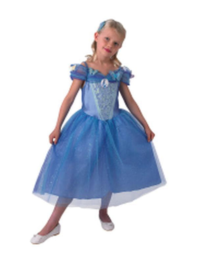 Cinderella Live Action Costume - Size 3-5-Costumes - Girls-Jokers Costume Mega Store