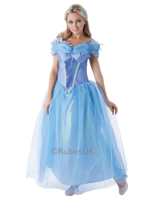 Cinderella Live Action Costume - Size S-Jokers Costume Mega Store