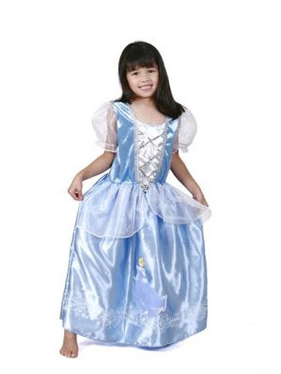 Cinderella Ornate Costume - Size 6-8-Costumes - Girls-Jokers Costume Mega Store