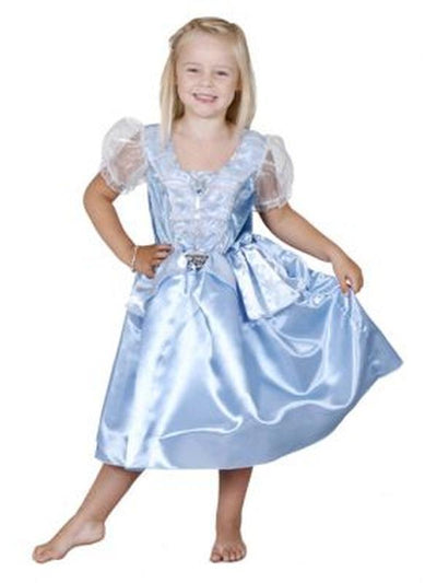 Cinderella Party - Size 6-8-Costumes - Girls-Jokers Costume Hire and Sales Mega Store