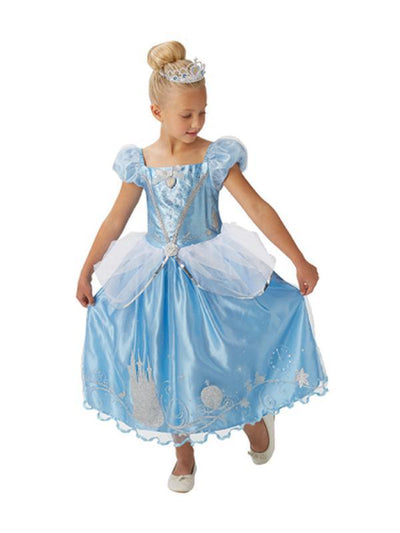 Cinderella Storyteller Costume - Size 4-6-Costumes - Girls-Jokers Costume Hire and Sales Mega Store