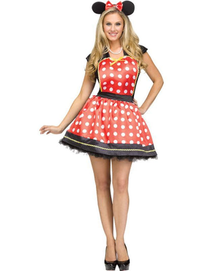 Classic Adult Instant Apron - Mouse-Costumes - Women-Jokers Costume Hire and Sales Mega Store
