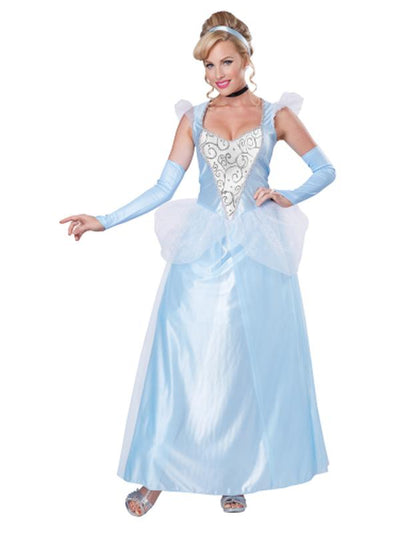 CLASSIC CINDERELLA/ADULT-Costumes - Women-Jokers Costume Hire and Sales Mega Store