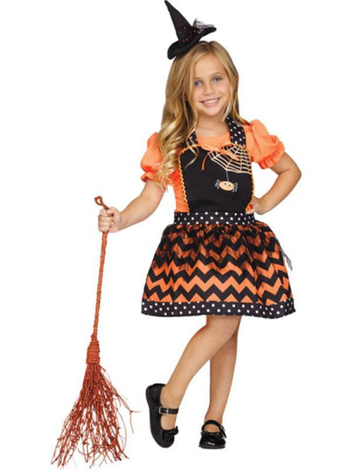 Classic Girls Instant Apron - Witch-Costumes - Girls-Jokers Costume Hire and Sales Mega Store