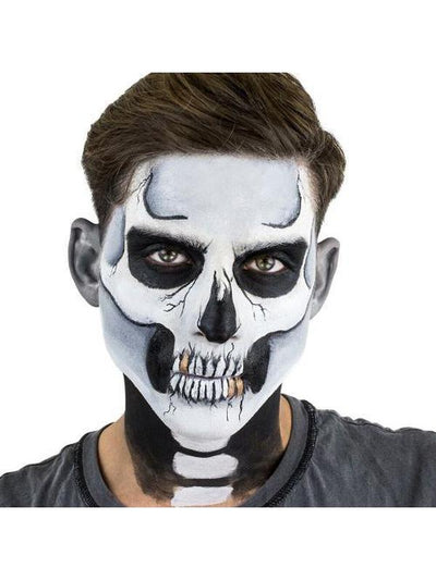 CLASSIC SKULL STENCIL KIT-Make up and Special FX-Jokers Costume Hire and Sales Mega Store