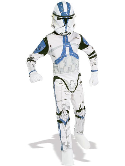 Clone Trooper Adult - Size Std-Costumes - Mens-Jokers Costume Hire and Sales Mega Store