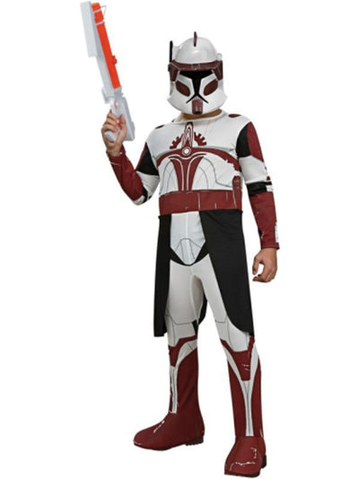 Clone Trooper Commander Fox - Size S-Costumes - Boys-Jokers Costume Hire and Sales Mega Store