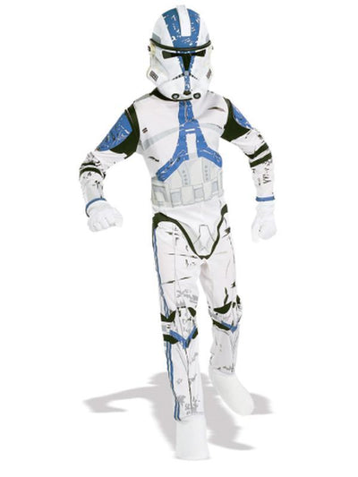 Clone Trooper Suit Child - Size S-Costumes - Boys-Jokers Costume Hire and Sales Mega Store