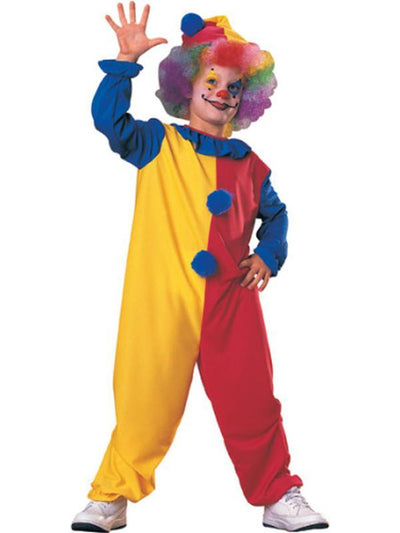Clown Child - Size M-Costumes - Boys-Jokers Costume Hire and Sales Mega Store