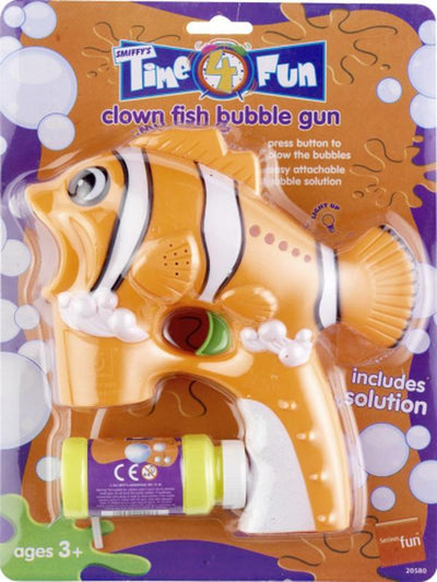 Clown Fish Bubble Gun-Weapons-Jokers Costume Hire and Sales Mega Store