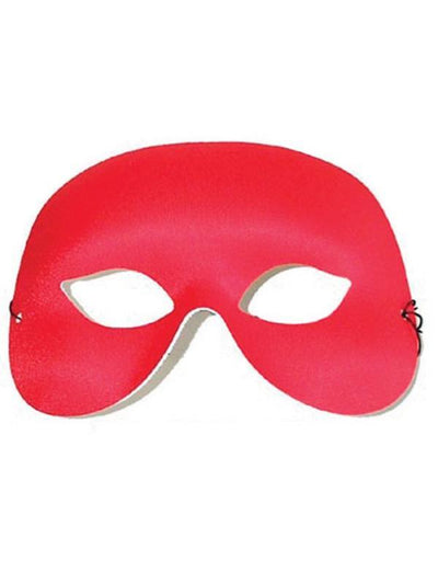 COCKTAIL Red Eye Mask-Masks - Masquerade-Jokers Costume Hire and Sales Mega Store