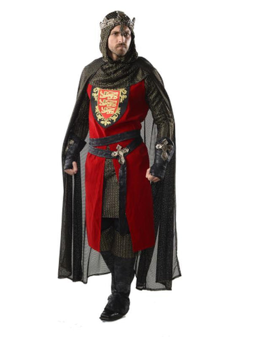 Collector'S Edition King Richard - Size Std-Costumes - Mens-Jokers Costume Hire and Sales Mega Store