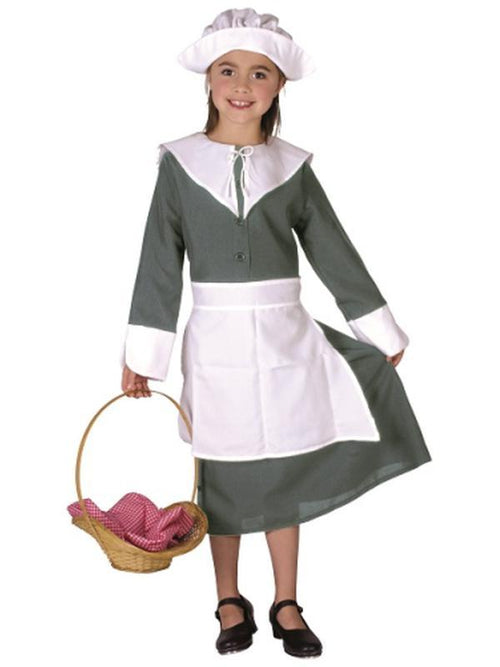 Colonial Girl - Child Large-Costumes - Girls-Jokers Costume Hire and Sales Mega Store
