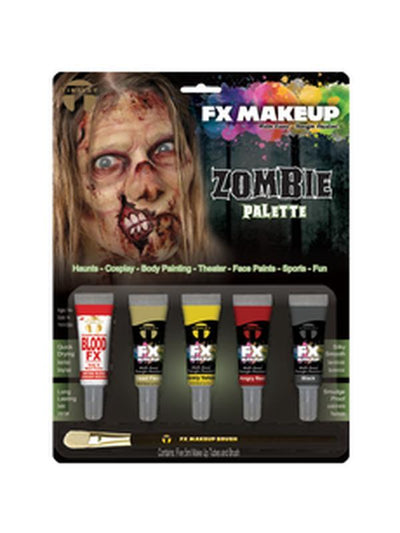 Colour Set Fx Makeup - Zombie-Make up and Special FX-Jokers Costume Hire and Sales Mega Store